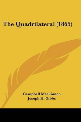 The Quadrilateral (1865) by Campbell MacKinnon image