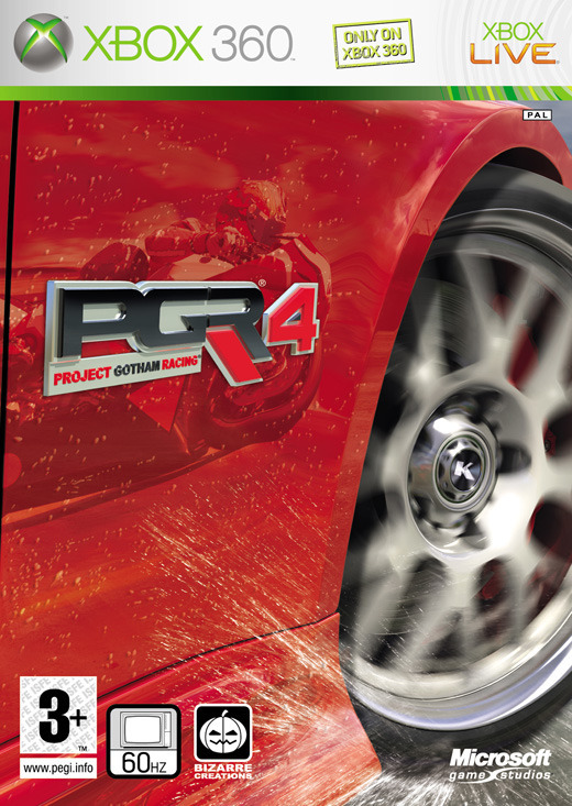 Project Gotham Racing 4 for X360