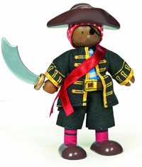 Le Toy Van: Budkins - Pirate Raphael