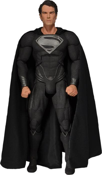 Superman Man of Steel Black Suit 1/4 Action Figure image