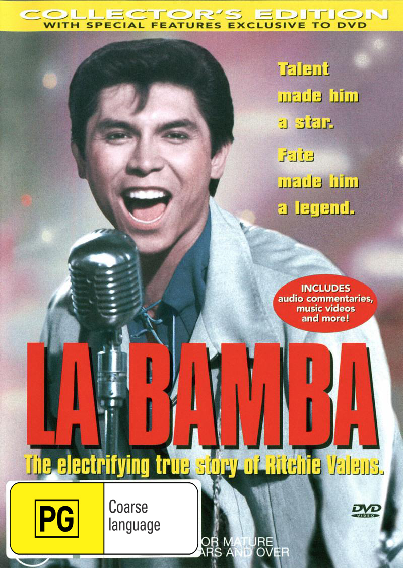 La Bamba on DVD image