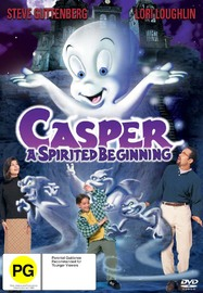 Casper: A Spirited Beginning on DVD