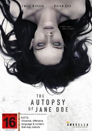The Autopsy Of Jane Doe DVD