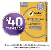 Norton Security Premium for Ten Devices - 1 Year License