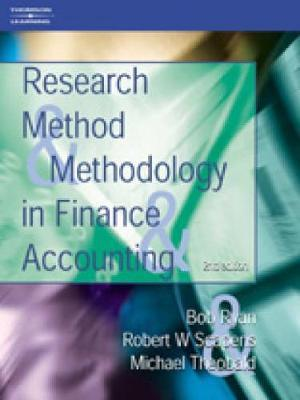 Research Methods and Methodology in Finance and Accounting by Viv Beattie image