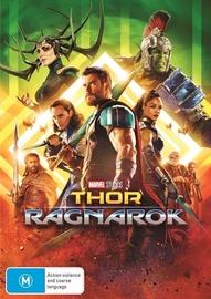 Thor: Ragnarok on DVD image