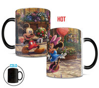 Disney's (Mickey and Minnie Sweetheart Cafe Morphing Mugs Heat-Sensitive Mug