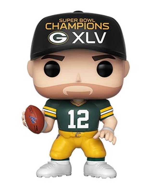 NFL: Packers - Aaron Rodgers (SB Champions XLV) Pop! Vinyl Figure