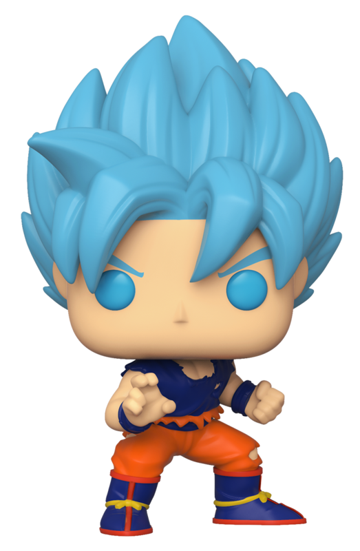 Dragon Ball Super – SSGSS Goku Pop! Vinyl Figure