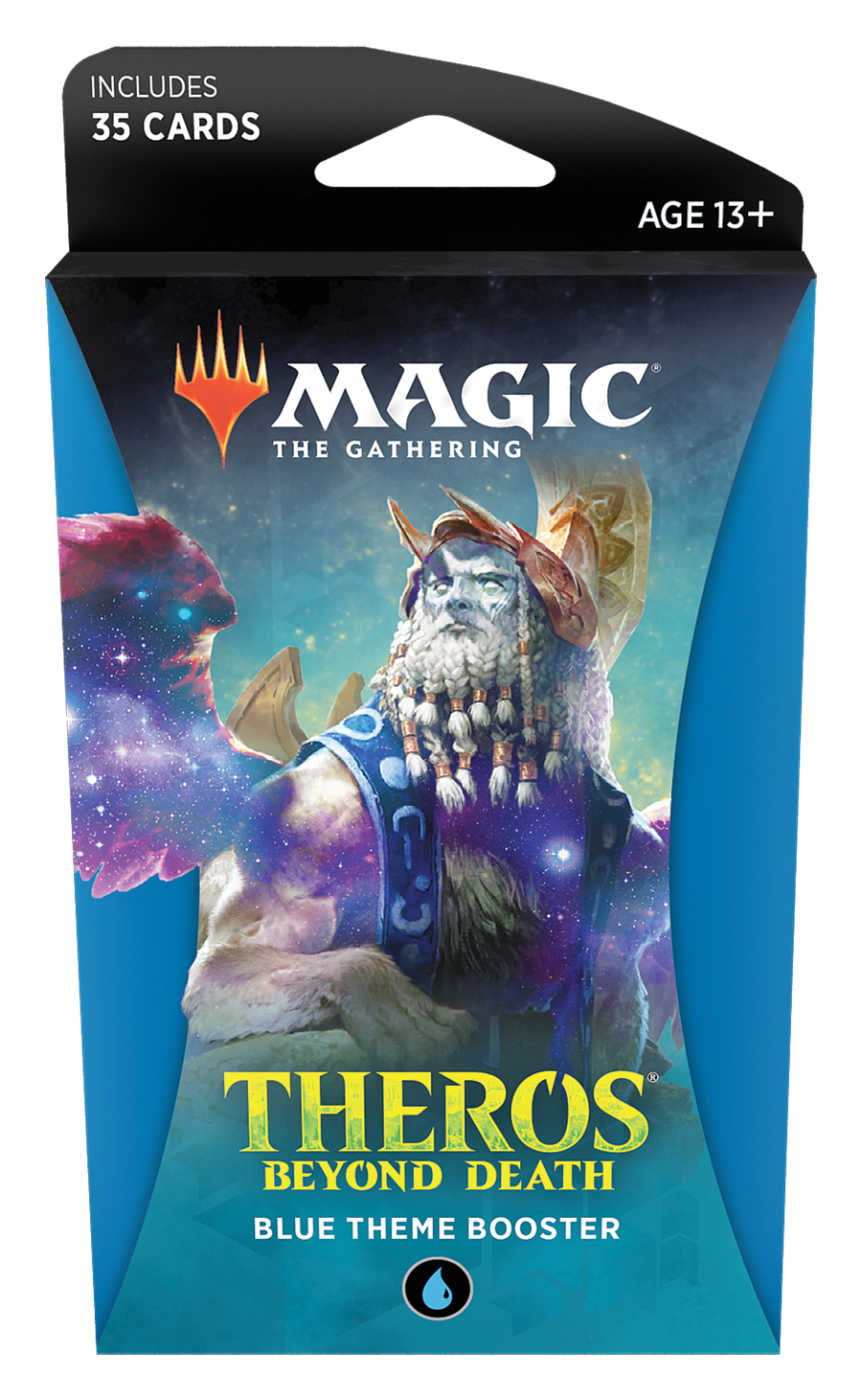 Magic The Gathering: Theros Beyond Death Theme Booster- Blue image