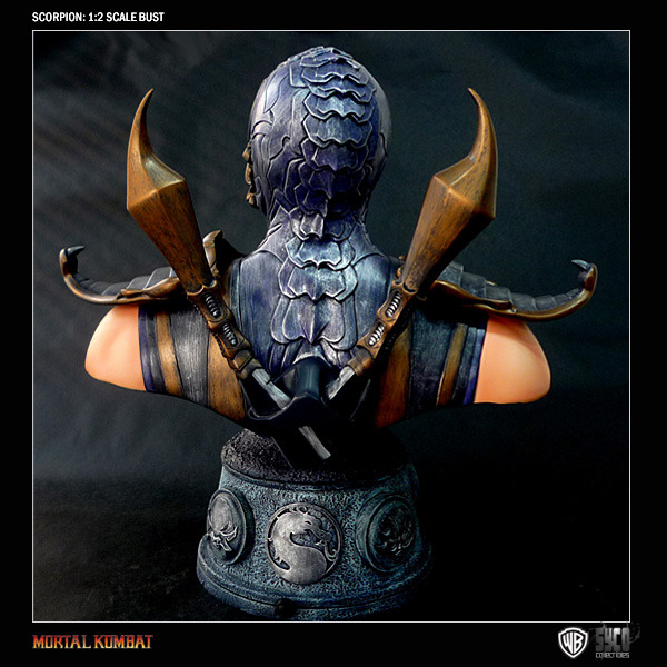 Mortal Kombat Scorpion 1/2 Resin Bust image