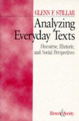 Analyzing Everyday Texts by Glenn F. Stillar