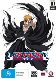 Bleach Collection 07 (Eps 110-121) on DVD