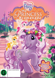My Little Pony: Princess Promenade on DVD image