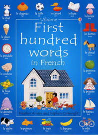 First 100 Words in French by Heather Amery image