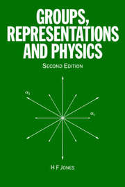 Groups, Representations and Physics by H.F. Jones image