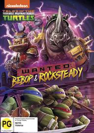 Teenage Mutant Ninja Turtles: Wanted - Beebop & Rocksteady on DVD