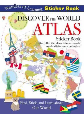 Wonders of Learning Sticker Book Discover the World Atlas