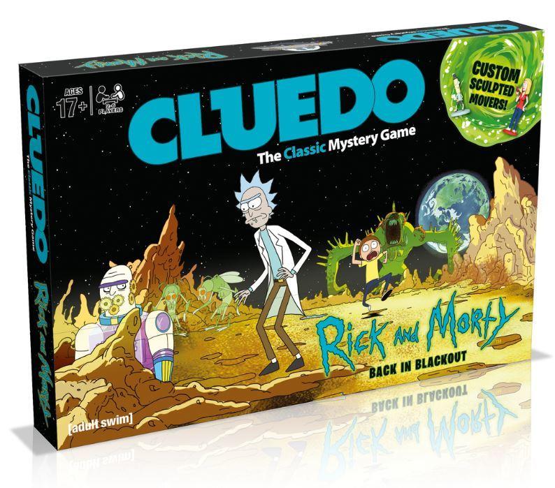 Rick and Morty Cluedo image