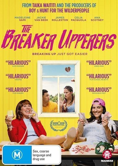 The Breaker Upperers on DVD image