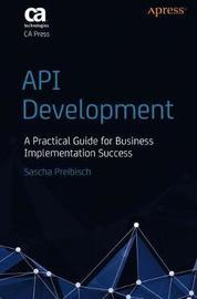 API Development by Sascha Preibisch