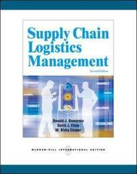 Supply Chain Logistics Management by Donald J. Bowersox image