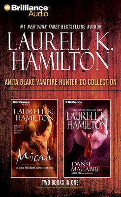 Laurell K. Hamilton Anita Blake Vampire Hunter CD Collection: Micah/Danse Macabre by Laurell K. Hamilton image