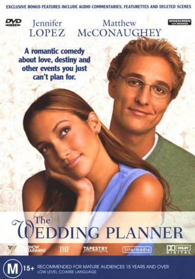 The Wedding Planner on DVD
