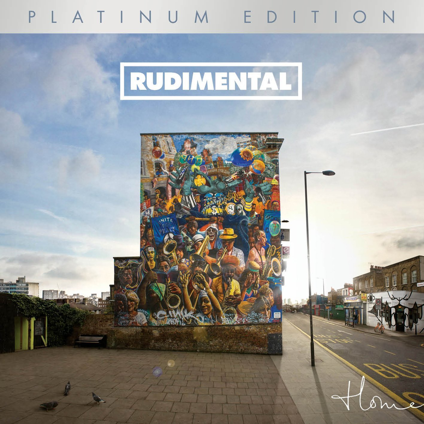 Home (Platinum Edition CD+DVD) by Rudimental image