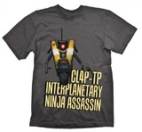 Borderlands ClapTrap Assassin T-Shirt (X-Large)