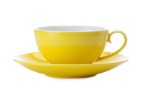 Maxwell & Williams Colour Basics Cup & Saucer - Yellow (200ml)