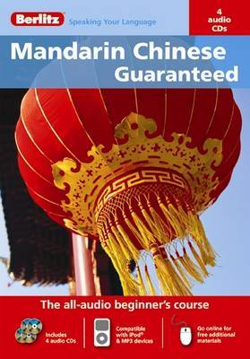 Chinese Mandarin Berlitz Guaranteed by Qiuxia Shao