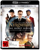 Kingsman: The Secret Service (4K UHD + UV) DVD