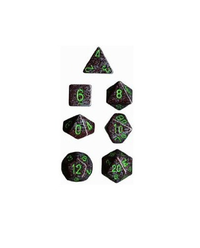 Chessex - Polyhedral Dice Set - Earth Speckled