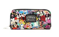 Loungefly Disney Alice in Wonderland Character Print Wallet