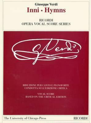 Inni/Hymns by Giuseppe Verdi image