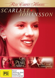 Red Carpet Heroes - Scarlett Johansson (Girl With A Pearl Earring / In Good Company) (2 Disc Set) on DVD image