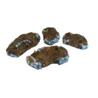 Micro Art Studio: Tabletop Scenics - Flat Hills (4)