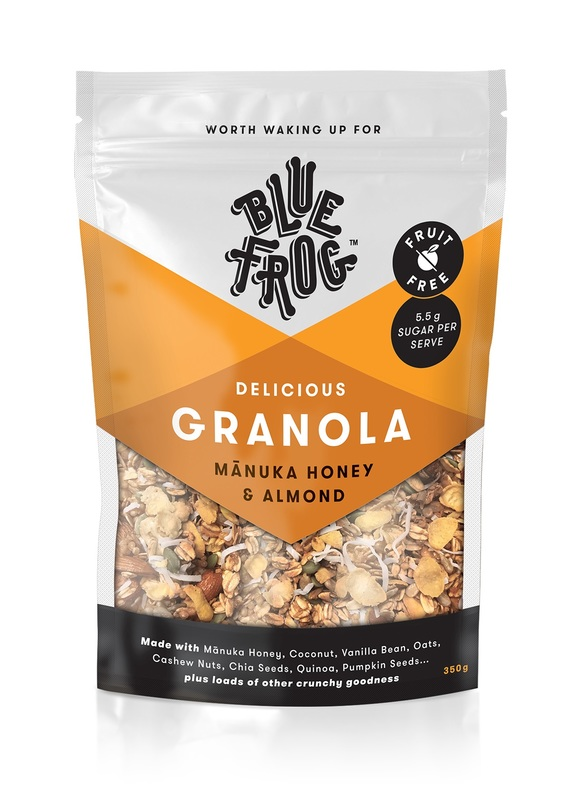 Blue Frog Granola - Manuka Honey & Almond (350g)