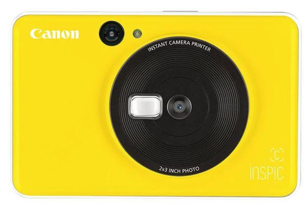 Canon: Inspic C 2in1 Camera and Mini Printer - Bumble Bee Yellow