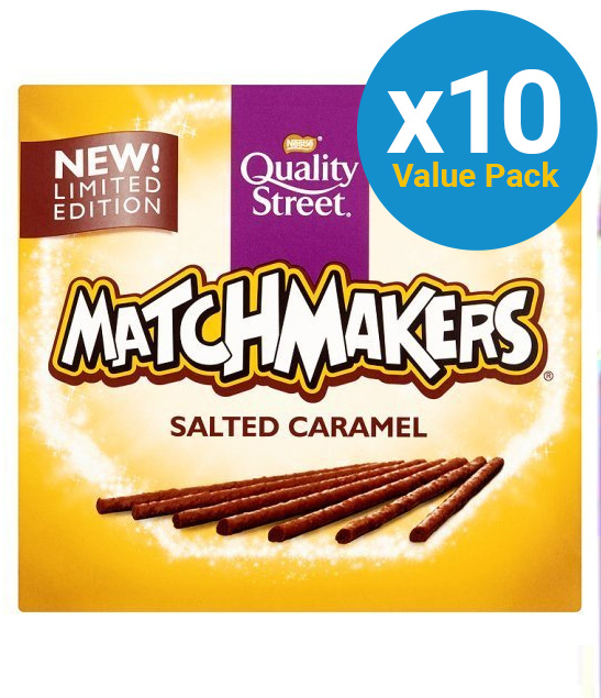 Quality Street Matchmakers Salted Caramel (130g) 10pk