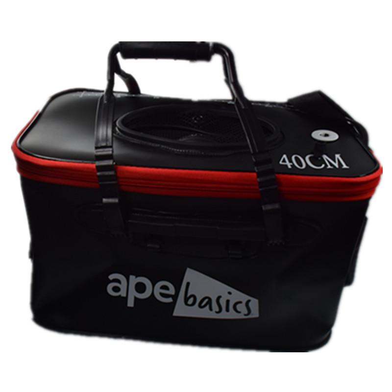 Ape Basics Collapsible Waterproof Fishing Live Bait Bucket - 23L image