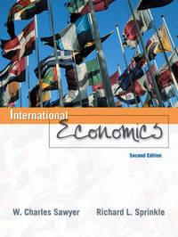 International Economics by W.Charles Sawyer image