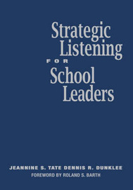 Strategic Listening for School Leaders by Jeannine S. Tate image