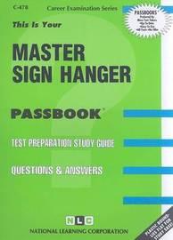 Master Sign Hanger image
