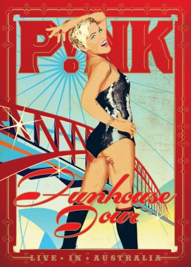 P!nk - Funhouse Tour: Live in Australia on DVD image