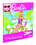 Barbie - 9 Piece Wooden Tray Puzzle