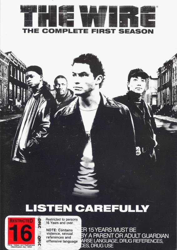 The Wire - The Complete 1st Season  (5 Disc Set Slimline) on DVD