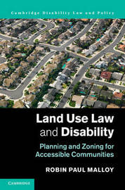 Cambridge Disability Law and Policy Series by Robin Paul Malloy