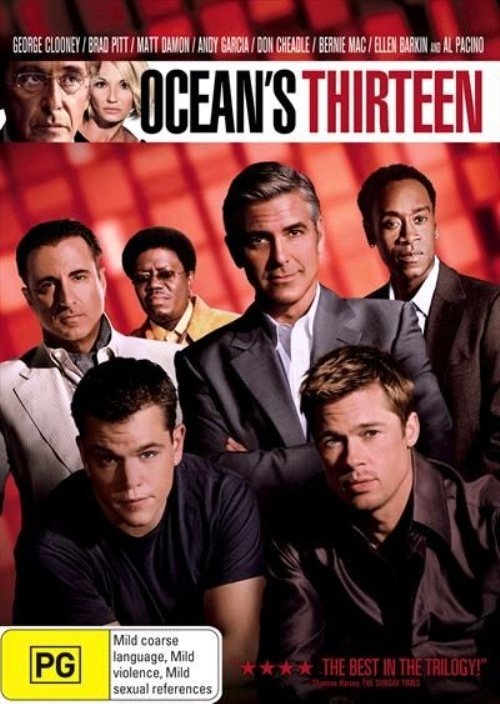 Ocean's Thirteen on DVD